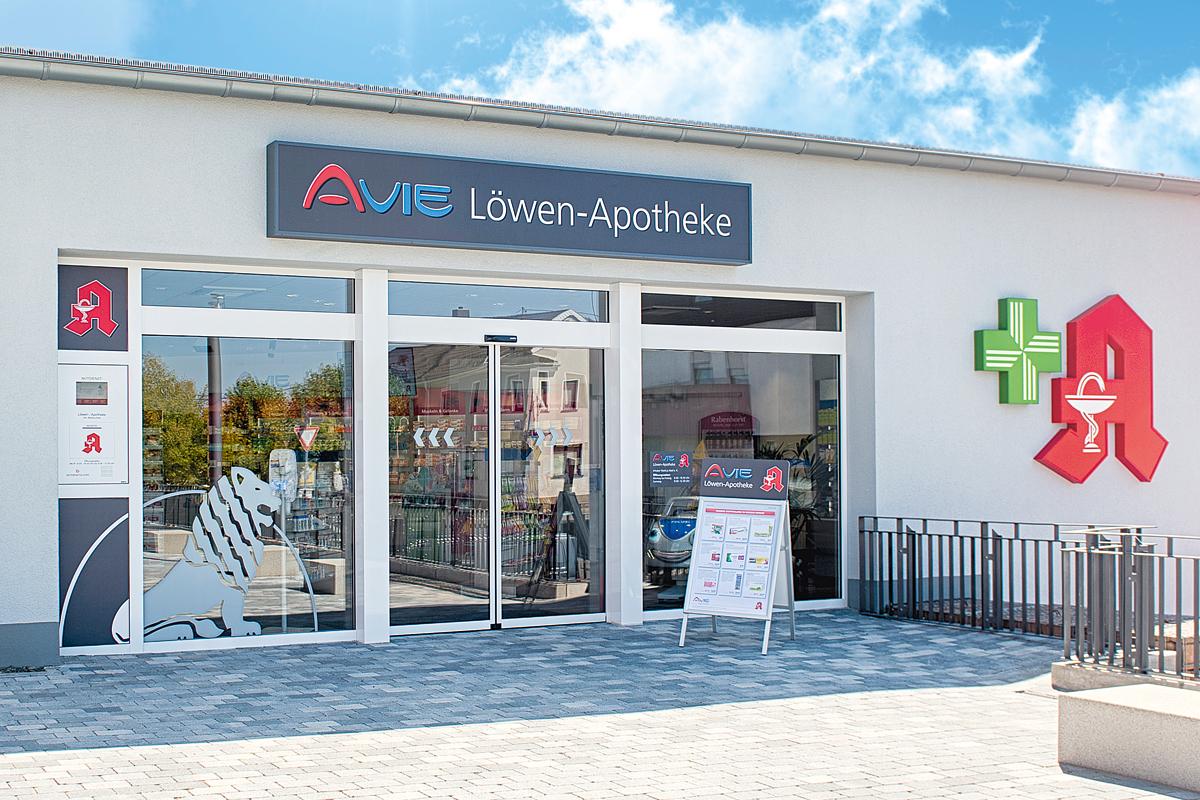 Die AVIE Löwen-Apotheke in Merchweiler