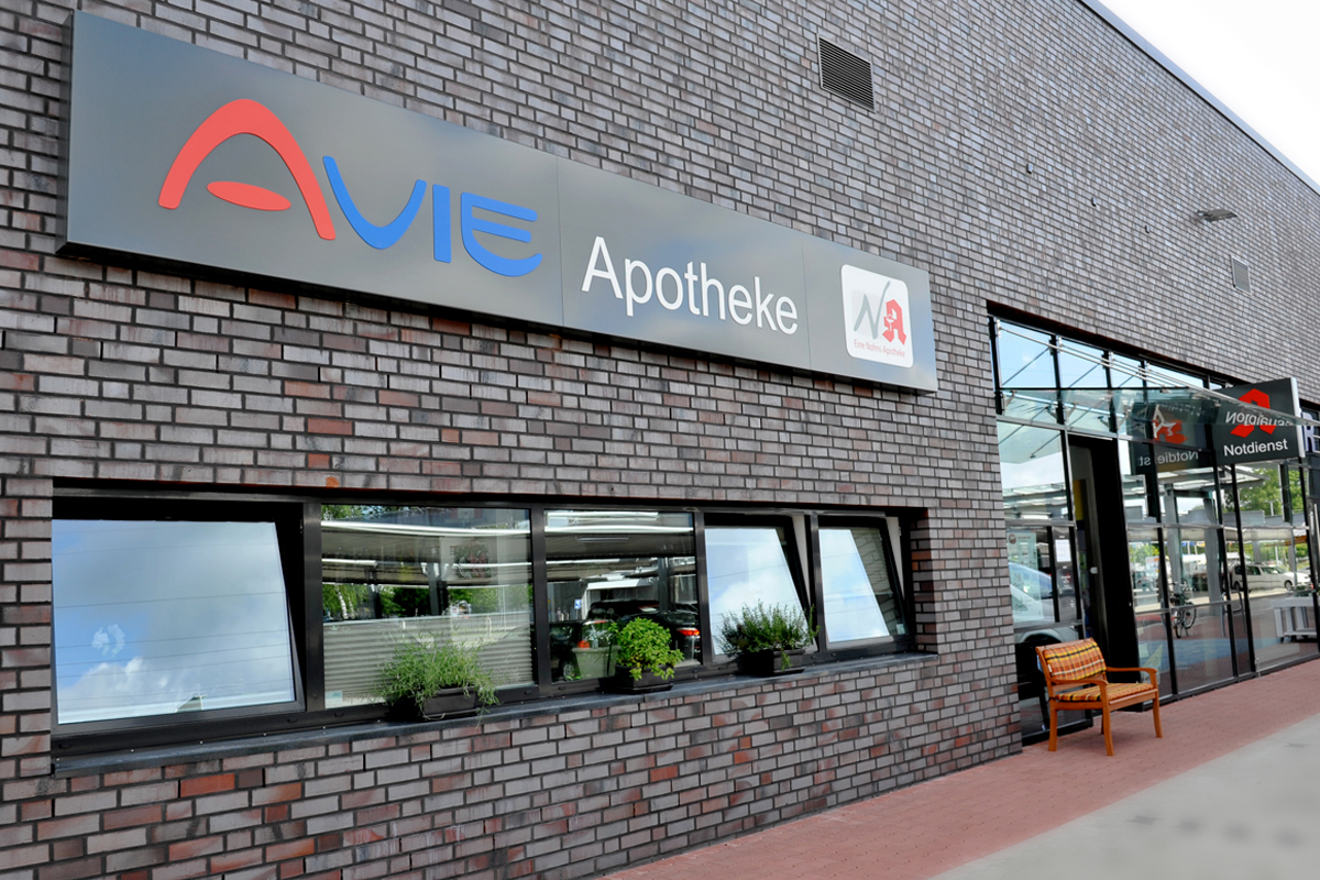 Die AVIE Apotheke in Osterholz