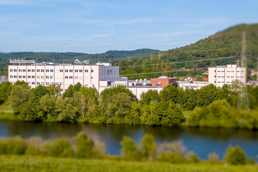 Die AVIE GmbH ist Teil der KOHL MEDICAL AG und hat ihren Sitz im kohlpharma Gebäude in Merzig.